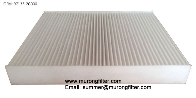 97133-2G000 cabin filters element